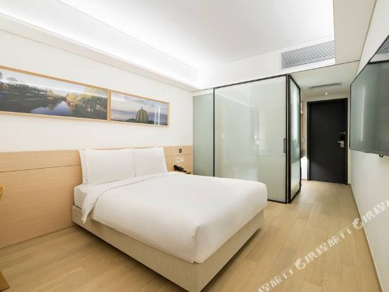 首爾明洞喜普樂吉酒店(Sotetsu Hotels The SPLAISIR Seoul Myeongdong)豪華高層大床房