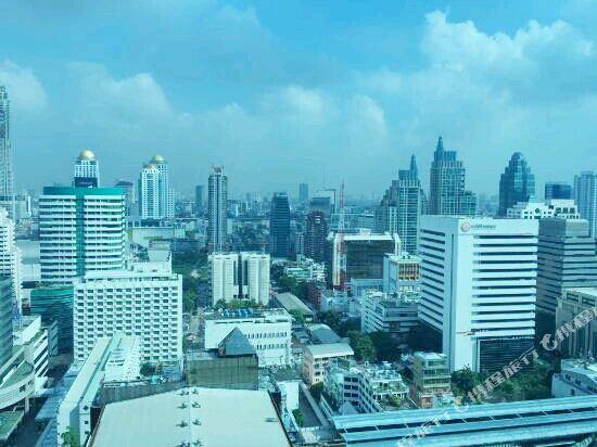 曼谷拉差阿帕森購物區萬麗酒店(Renaissance Bangkok Ratchaprasong Hotel)眺望遠景