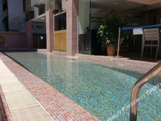 香港樂仕酒店(Acesite Knutsford Hotel)室外游泳池