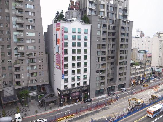 台北麗都唯客樂飯店(Rido Hotel)眺望遠景