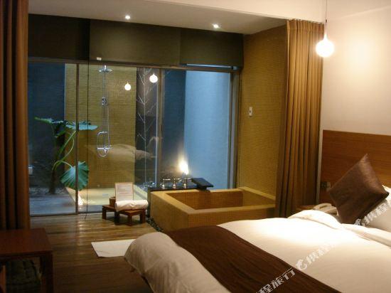 台北北投立德倆人旅店(Hotel Double One)甜蜜客房(無窗)