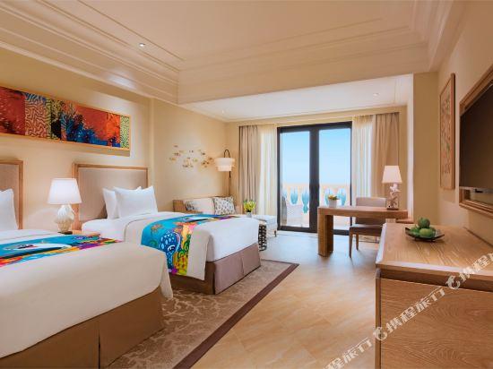 長隆橫琴灣酒店(珠海海洋王國店)(Chimelong Hengqin Bay Hotel (Zhuhai Dolphin Flagship Store))度假海景房-雙床