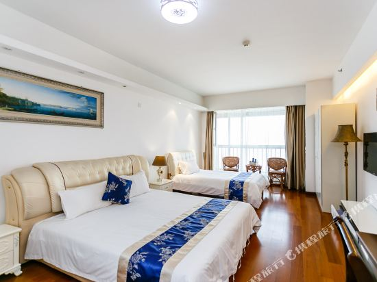 Shenlan Holiday Apartment Hotel Qingdao Damuzhi Square