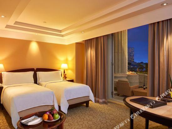 新加坡富麗敦酒店(The Fullerton Hotel Singapore)海峽俱樂部尊貴碼頭房