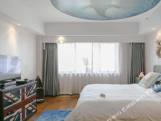 XY酒店公寓(北京金茂府店)(XY Apartment Hotel (Beijing Jinmaofu))智能自然大床房