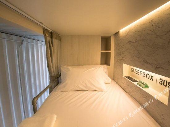 素坤逸膠囊22號旅舍(Sleepbox Sukhumvit 22 Hostel)私人四人宿舍(帶私人浴室)