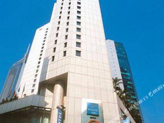 香港諾富特世紀酒店(Novotel Century Hong Kong)外觀