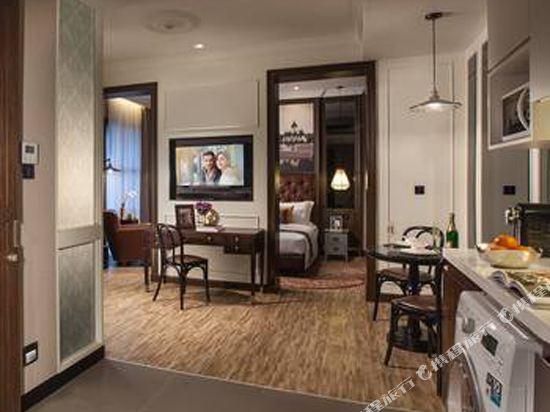曼谷克雷斯典藏大都會酒店-雅詩閣有限公司(Metropole Bangkok the Crest Collection)尊貴一室公寓