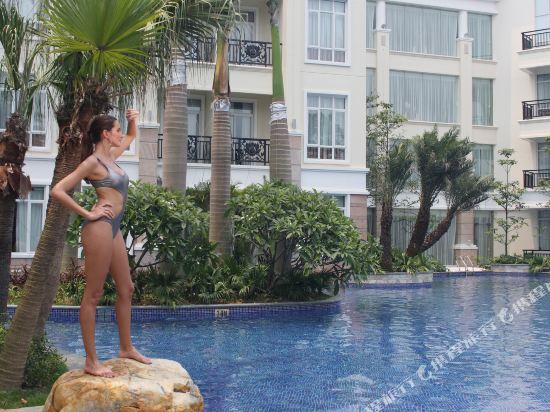 三正半山酒店(東莞橋頭店)(Goodview Hotel (Dongguan Qiaotou))室外游泳池