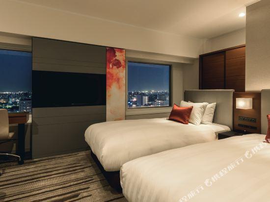 札幌ANA皇冠假日酒店(ANA CROWNE PLAZA SAPPORO)豪華雙床房