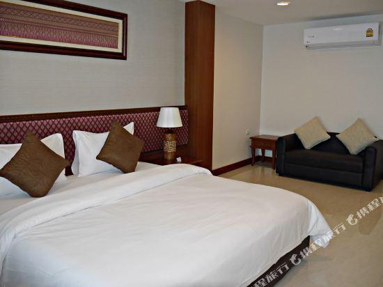 暹羅特瑞酒店(True Siam Rangnam Hotel)豪華特大床房