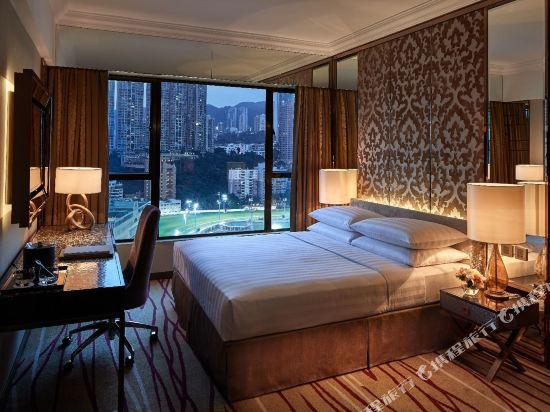 香港灣仔帝盛酒店(Dorsett Wanchai)尊貴豪華馬場景客房