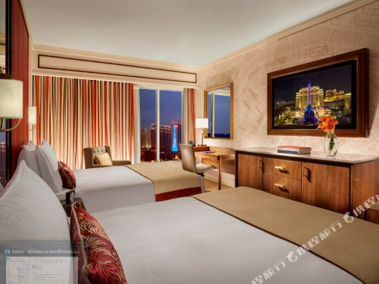澳門巴黎人酒店(The Parisian Macao)艾菲爾雙床房