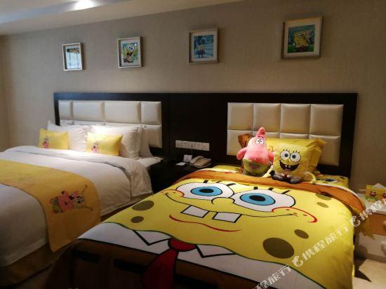 薩維爾金爵·鹿安酒店(上海國際旅遊度假區浦東機場店)(Savile Knight Lu'an Hotel (Shanghai International Tourism and Resorts Zone Pudong Airport))海綿寶寶主題親子房