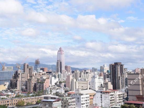 台北凱達大飯店(Caesar Metro Taipei)眺望遠景