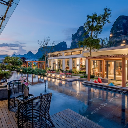 Ji Yun Resort (Yangshu Ten-mile Gallery Yulong River)