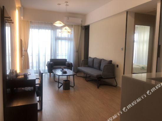 星倫保利國際公寓(珠海橫琴口岸長隆店)(原凱迪國際公寓)(Xinglun Poly International Apartment (Zhuhai Hengqin Port Changlong))都市輕生活兩房一廳雅緻套房