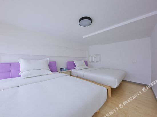 維多利亞公寓(廣州奧園廣場店)(Victoria Apartment (Guangzhou Aoyuan Plaza))複式雙床房