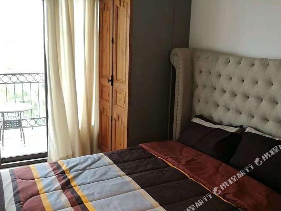 芭堤雅三隻熊威尼斯人公寓(Three Bears, Thailand Pattaya Venetian Apartment)特惠大床房
