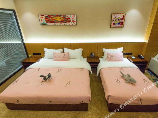 昆明雲楨花園酒店(Yunzhen Garden Hotel)湖景豪華親子房