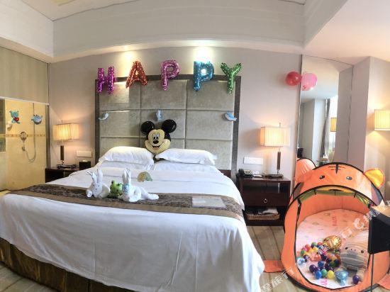 百盛達酒店(佛山千燈湖公園店)(Pasonda Hotel (Foshan Qiandeng Lake Park))歡樂親子大床房