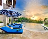 巴厘島藍色別墅