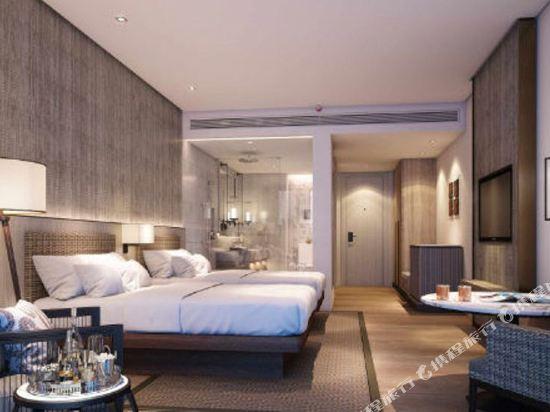 普吉島萬豪奈陽海灘水療度假村(Phuket Marriott Resort and Spa, Nai Yang Beach)豪華泳池景觀房