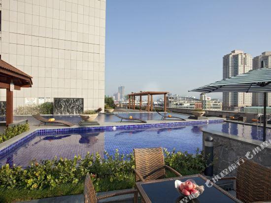 中山喜來登酒店室外游泳池
