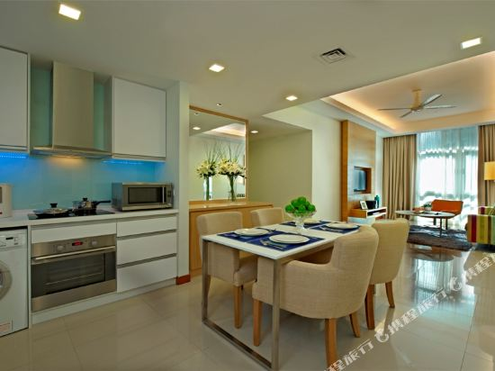 吉隆坡輝盛國際公寓(Fraser Place Kuala Lumpur)兩臥室豪華公寓