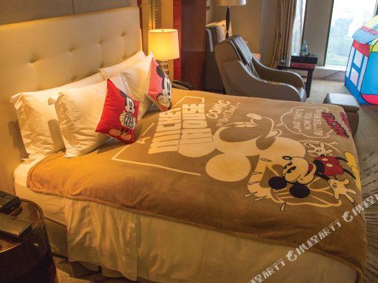 上海中谷小南國花園酒店(WH Ming Hotel)至尊親子家庭房