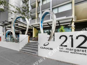 布里斯班212瑪格麗特街盛橡酒店(Oaks 212 Margaret Brisbane)