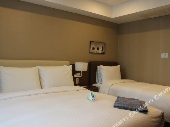釜山商務酒店(Busan Business Hotel)家庭雙床房