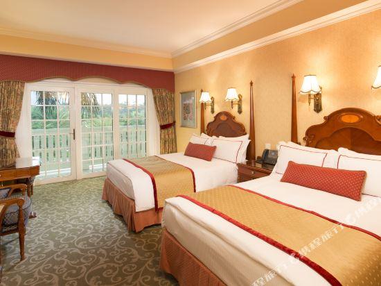 香港迪士尼樂園酒店(Hong Kong Disneyland Hotel)豪華客房