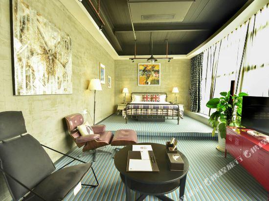 美豪酒店(深圳機場店)(Mehood Hotel)塗鴉複式主題房