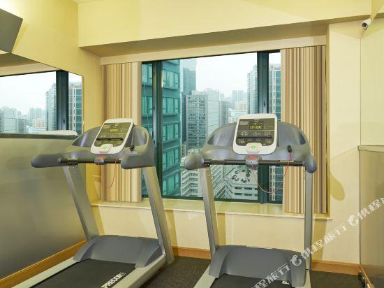 香港悅品海景酒店(原觀塘麗東酒店)(Hotel COZI Harbour View)健身房