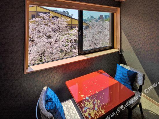 京都雅然居酒店(祇園)(Hotel Alza Kyoto)城景轉角甄選雙床房