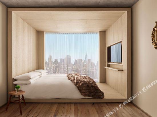 紐約共和酒店(Public New York)壯麗景觀大號床房
