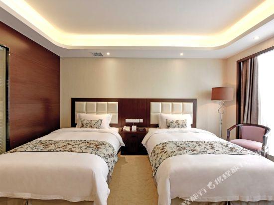 薩維爾金爵·鹿安酒店(上海國際旅遊度假區浦東機場店)(Savile Knight Lu'an Hotel (Shanghai International Tourism and Resorts Zone Pudong Airport))豪華雙床房