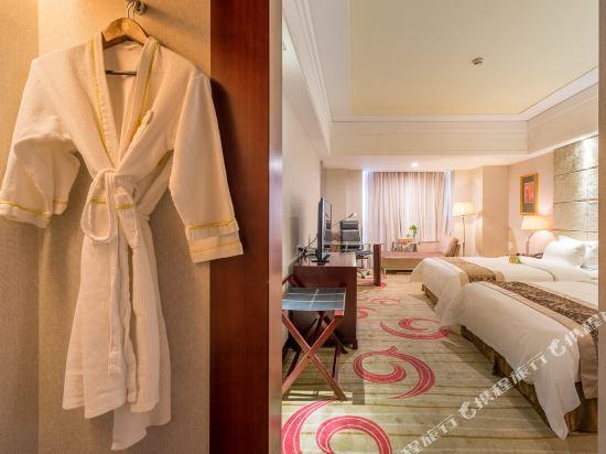 百盛達酒店(佛山千燈湖公園店)(Pasonda Hotel (Foshan Qiandeng Lake Park))豪華雙床房