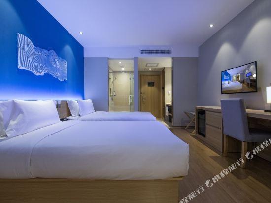 桔子酒店·精選(昆明翠湖店)(Orange Hotel Select (Kunming Green Lake))踏浪雙床房