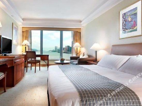 香港九龍海逸君綽酒店(Harbour Grand Kowloon)海港景觀房