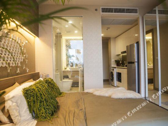 阿縵芭提雅天空之城公寓式酒店(Among Riviera City of Sky Pattaya)豪華海景套房