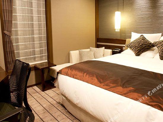 格蘭比亞大酒店(Hotel Granvia Osaka)格蘭比亞樓層和諧大床房