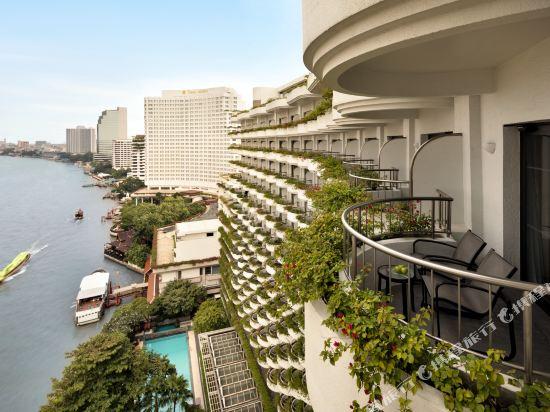 曼谷香格里拉酒店(Shangri-La Hotel Bangkok)曼谷樓曼谷河景房