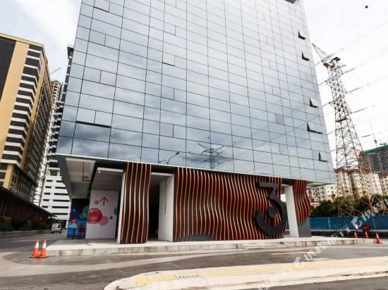 吉隆坡550三塔靠近韓國大使館工作室OYO公寓