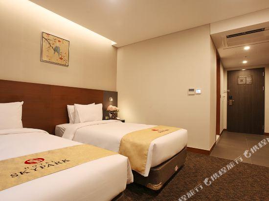 空中花園東大門金斯敦酒店(Hotel Skypark Kingstown Dongdaemun)標準雙床房