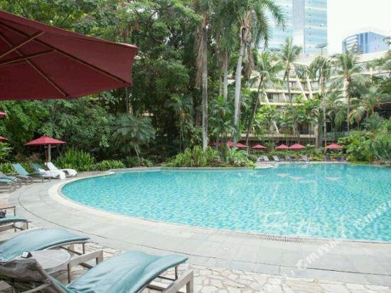 曼谷瑞士奈樂特公園酒店(Swissotel Nai Lert Park Bangkok)室外游泳池