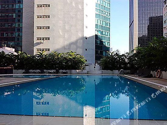 香港諾富特世紀酒店(Novotel Century Hong Kong)室外游泳池