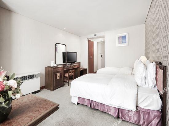 總統酒店(Hotel President)標準雙床房