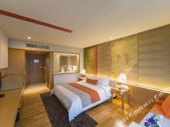曼谷帕色哇公主酒店(Pathumwan Princess Hotel)高級房